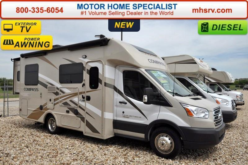 2017 Thor Motor Coach Compass 23TR Diesel W/Slide Ext. TV & I