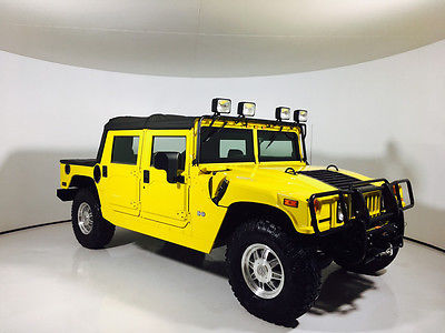 2004 Hummer H1 Base Sport Utility 4-Door Just Like New !! Nicest Truck In The Country !! 05 03 02