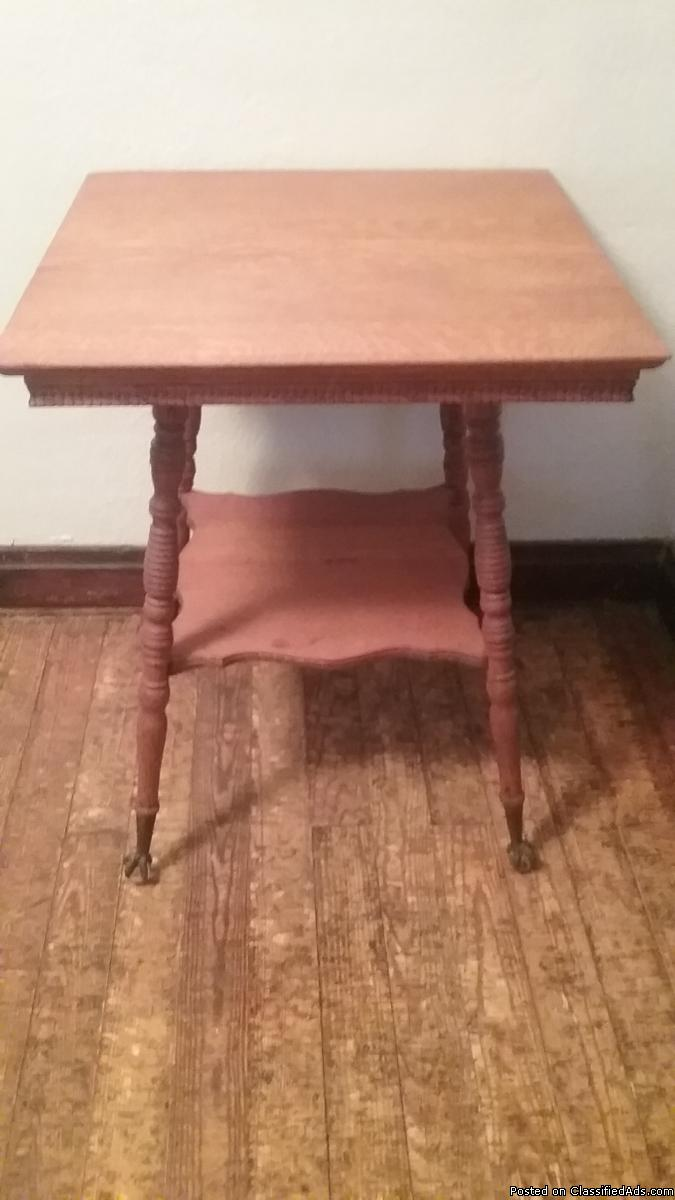 Oak Parlor Table