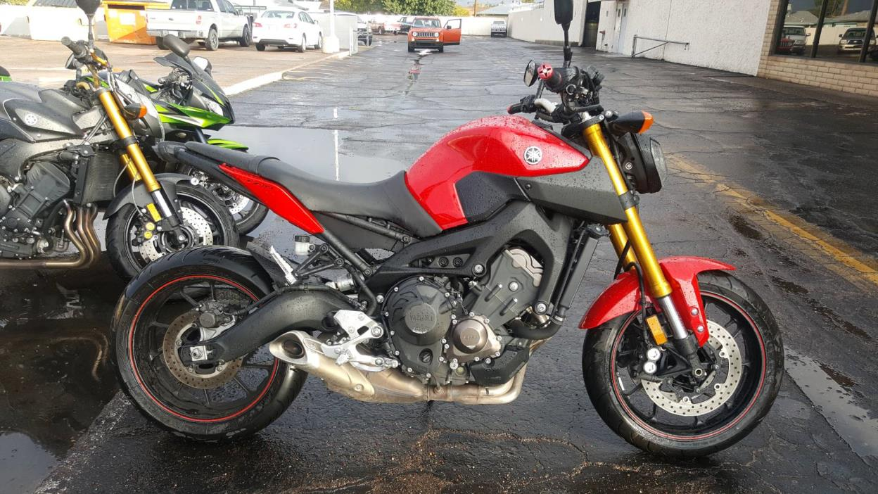 2014 yamaha fz 09 motorcycles for sale in phoenix arizona for Used 2014 yamaha fz 09 for sale