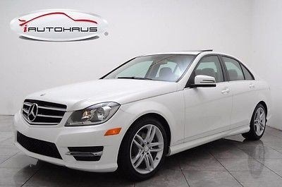 2014 Mercedes-Benz C-Class warranty LOW mi
