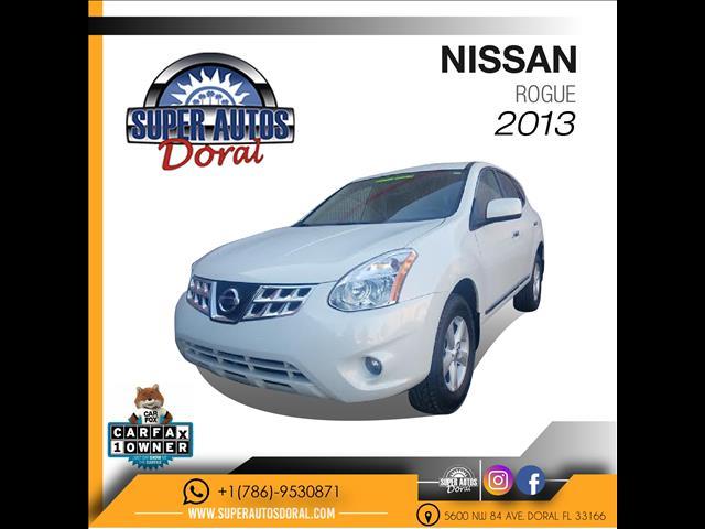 2013 NISSAN ROGUE 4X2