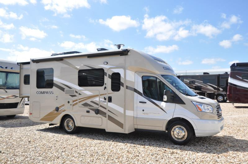 2017 Thor Motor Coach Compass 23TR Ford Diesel W/Slide 3 TVs