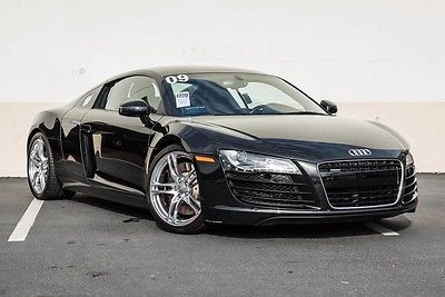 2009 Audi R8 Base Coupe 2-Door 2009 Audi R8