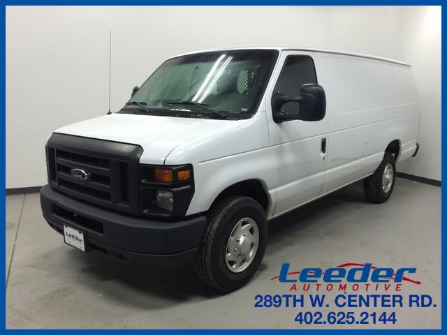 2012 Ford Econoline Extended Cargo Van Cargo Van