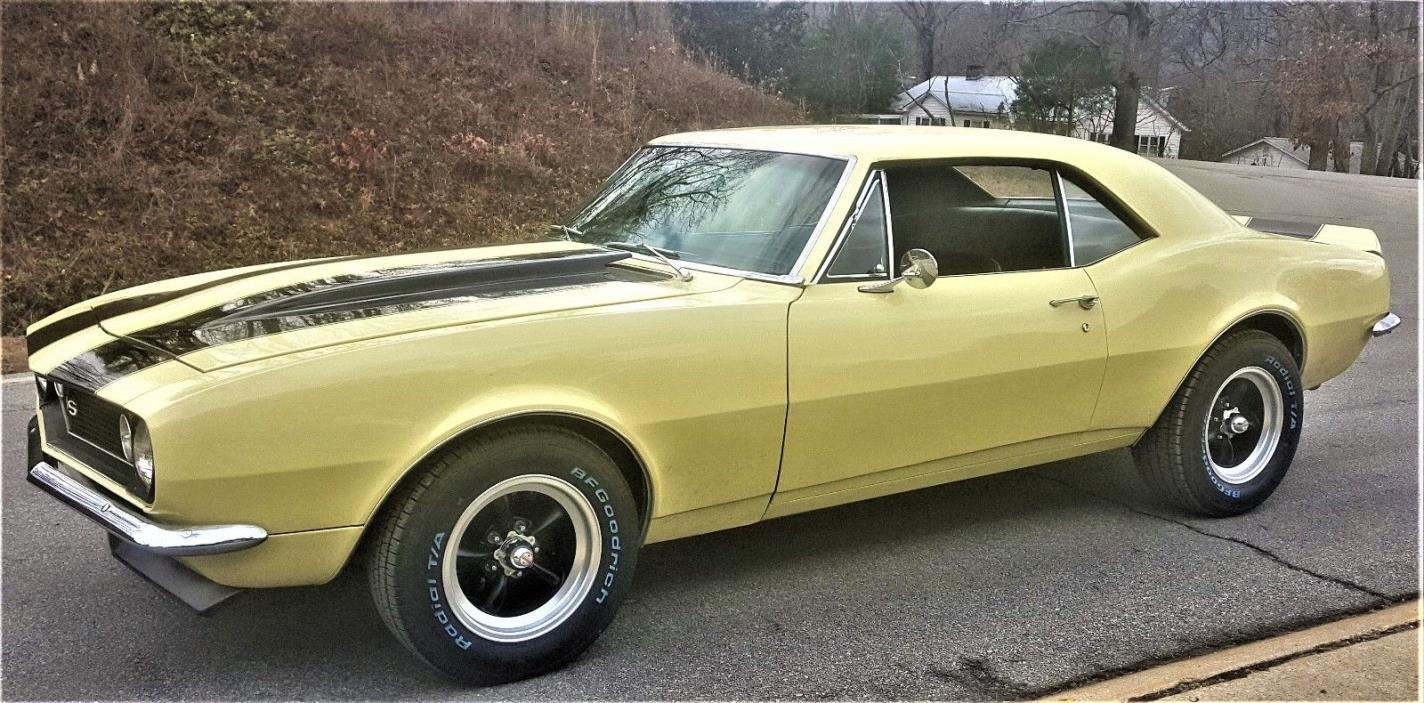 1967 Chevrolet Camaro S/S 1967 CHEVROLET CAMARO S/S FRAME OFF RESTORATION