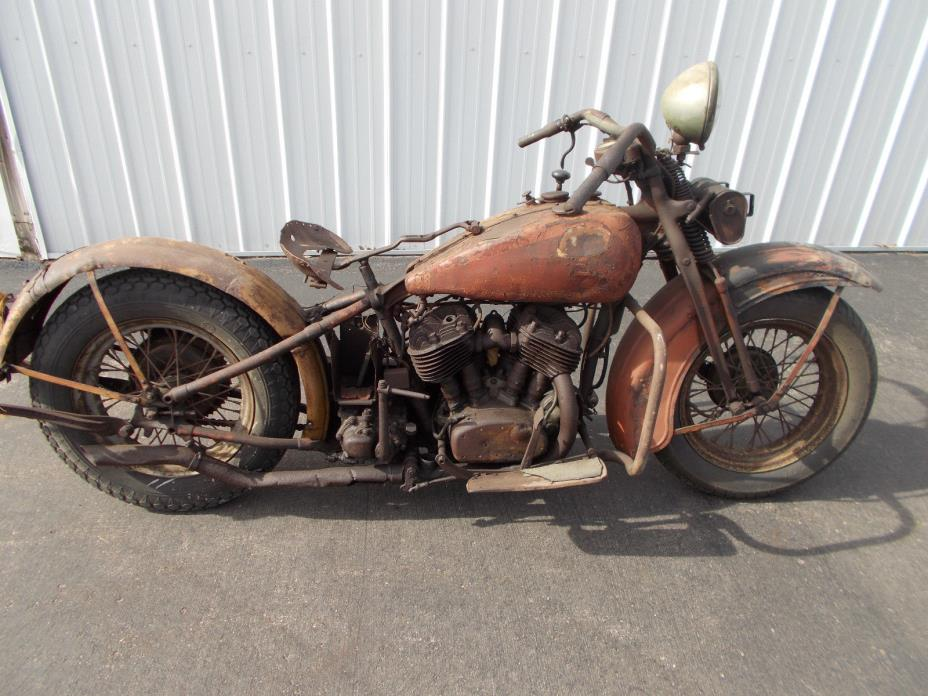 1949 Harley Flathead Motorcycles For Sale
