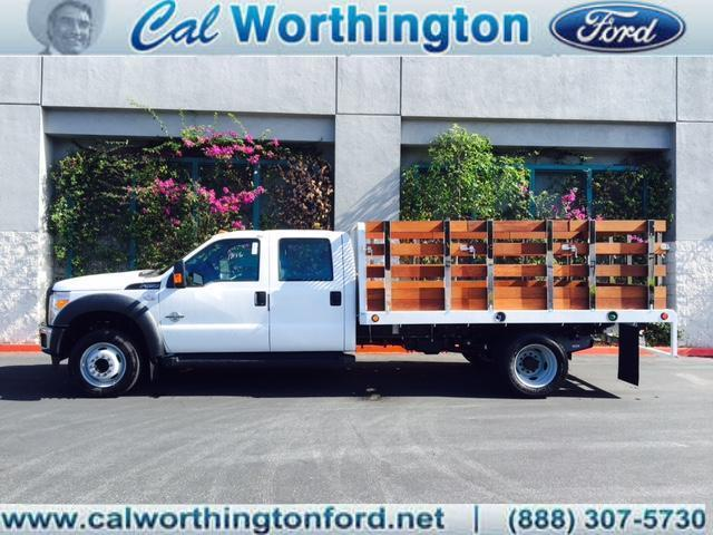 2016 Ford Super Duty F-550 Drw Flatbed Truck