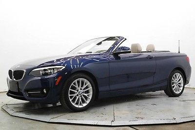 2016 BMW 2-Series 228i xDrive 228i AWD Auto Conv Pwr Top Premium & Cold Wthr Pkgs 2K Must See and Drive Save