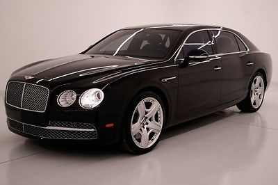 2014 Bentley Flying Spur MULLINER W12 Sedan AWD 2014 14 BENTLEY FLYING SPUR W12 * CERTIFIED WARRANTY * MULLINER * FRIDGE * FL *
