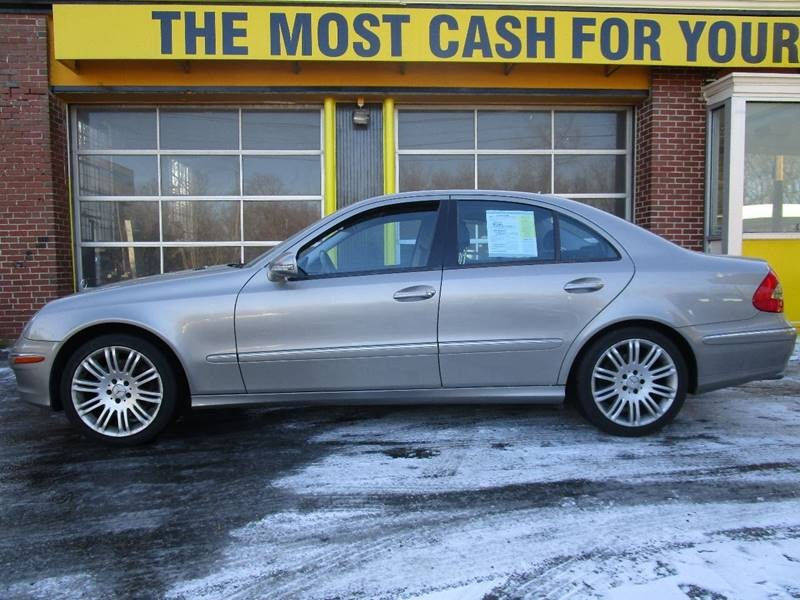 2007 Mercedes-Benz E-Class E350 4MATIC AWD 4dr Sedan