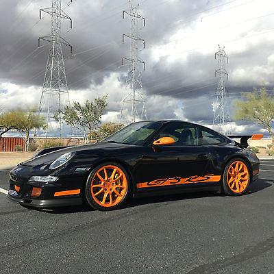 2007 Porsche 911 GT3 RS 2007 Black GT3 RS