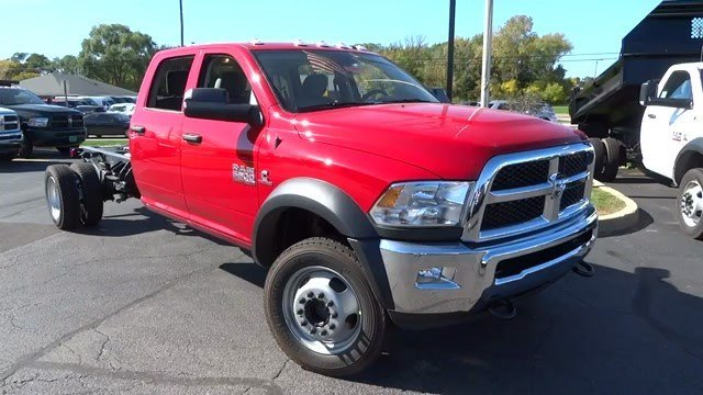 2017 Ram 5500 Cab Chassis