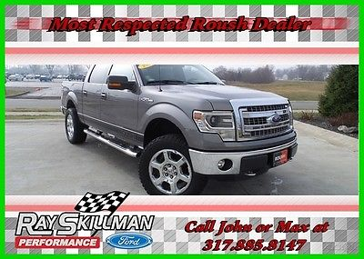 2014 Ford F-150 XLT 2014 XLT Used 5L V8 32V Automatic 4WD Pickup Truck Premium