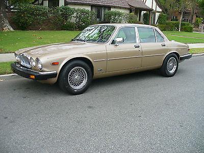 1986 Jaguar XJ6  Beautiful California Rust Free Jaguar XJ6 Vanden Plas  1 Owner 78,000 Miles LOOK