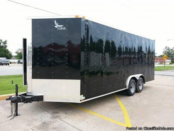 8x24 Enclosed Trailer Cars For Sale