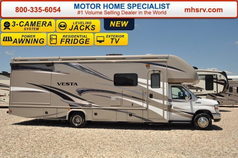 2017 Holiday Rambler Vesta 31U W/Int. Awnings 3 Cam Ext TV