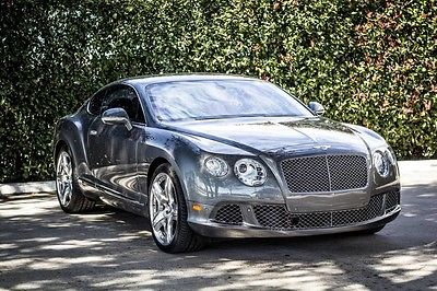 2012 Bentley Continental GT GT Coupe 2-Door 2012 Bentley