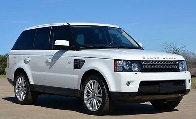 2013 Land Rover Range Rover Sport HSE LUX 2013 Range Rover Sport HSE Luxury Interior Package 20 Wheels One Owner Low Miles