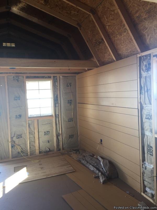 12 x 24 Lofted Barn Cabin - REPO, 2