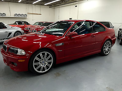 2004 BMW M3 Base Coupe 2-Door 2004 BMW M3 Base Coupe 2-Door 3.2L Very rare example with only 42k miles 6 Speed