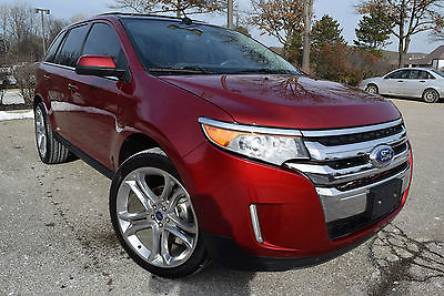 2013 Ford Edge AWD LIMITED-EDITION  Sport Utility 4-Door 2013 Ford Edge Limited Sport Utility 4-Door 3.5L/AWD/DVD/Navi/22