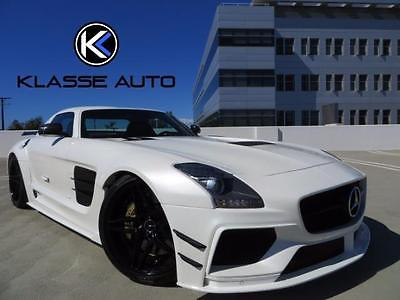 2011 Mercedes-Benz SLS AMG Base Coupe 2-Door 2011 Mercedes-Benz SLS AMG PD900GT Wide Body Coupe Low Miles Celebrity Owned Wow