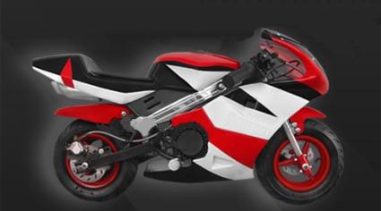 2015 Tao Tao 47cc Gas Pocket Bike 2 Stroke Engine