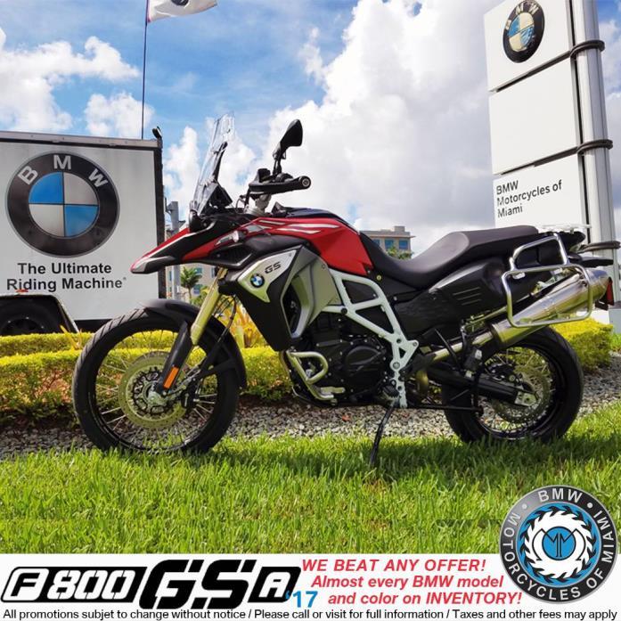 2017  BMW  F 800GSA
