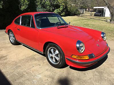 1972 Porsche 911 T 1972 Porsche 911T Coupe, Original Matching Numbers, Aluminum Decklid