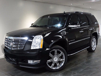 2007 Cadillac Escalade AWD 4dr 2007 CADILLAC ESCALADE AWD NAV REAR-CAM A/C&HEATED-SEATS DVD-PKG 22-WHLS 1-OWNER
