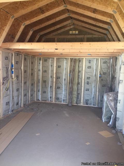 12 x 24 Lofted Barn Cabin - REPO, 1