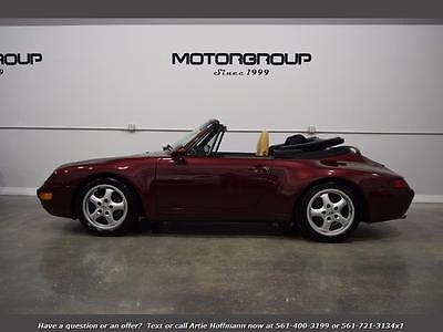 1996 Porsche 911 Carrera Convertible 2-Door 1996 Porsche 911 Carrera 993 Cabriolet, LOW MILES, Financing Available FL