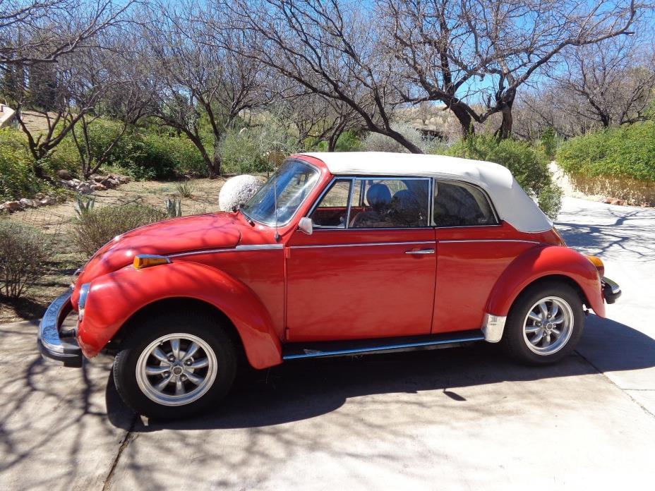 1979 Volkswagen Cabrio 1979 Volkswagen Beetle - Classic Cabriolet