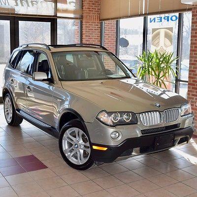 2008 BMW X3 3.0si Sport Utility 4-Door 2008 BMW X3 3.0si Sport Utility 4-Door 3.0L Xenons NAV Pano Roof COLD PACK 60Pix