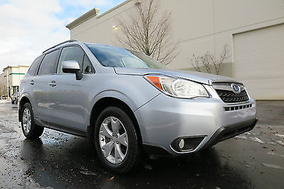 2015 Subaru Forester 2.5i Limited with Navigation, Winter Package 2015 Subaru Forester 2.5i Limited with Nav, All Weather Package, Navigation!
