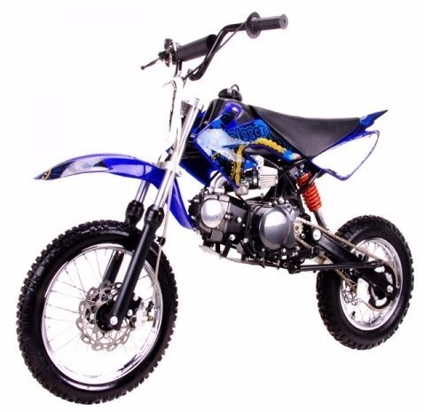 2016 Coolster 125cc Semi Auto Mid Size Coolster QG-214S Dirt Bike