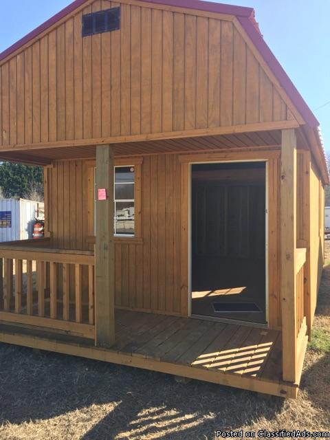 12 x 24 Lofted Barn Cabin - REPO, 0