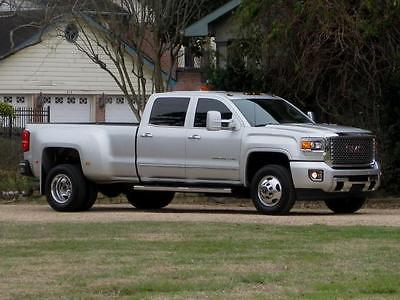2015 GMC Sierra 3500 Denali CREW CAB DUALLY ( DENALI ) 6.6L DURAMAX DIESEL 4X4!!! LOADED... TV/DVD