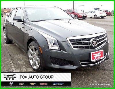 2014 Cadillac ATS 2.0L Turbo Luxury All Wheel Drive 1-Owner only 37,010 miles, remote start, leather, sunroof, park assist, nonsmoker 15552