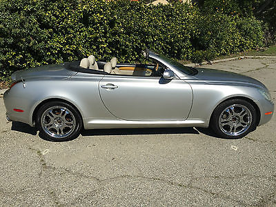 2002 Lexus SC CONVERTIBLE CORROSION FREE MARK LEVINSON OUTHERN CALIFORNIA PAMPERED LADY MILD CLIMATE CORROSION FREE CLEAN CARFAX