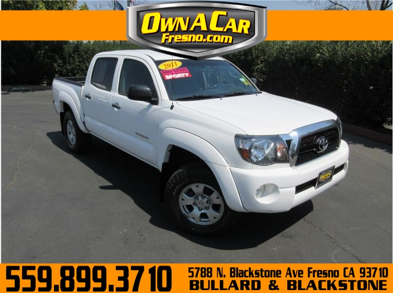 2011 Toyota Tacoma Double Cab PreRunner Pickup 4D 5 ft