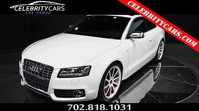 2012 Audi S5 V8 2012 Audi S5 V8 low mileage-- CLEAN CARFAX - Savani Wheels -Carbon fiber RED INT