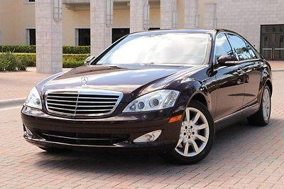 2007 Mercedes-Benz S-Class Base Sedan 4-Door 2007 Mercedes-Benz S550 1-Owner ONLY 25K MILES! P3 Premium PKG Night Vision