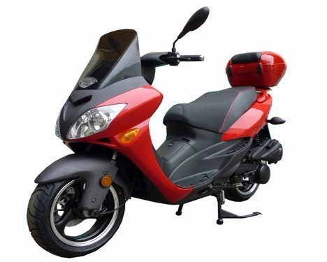 2016 Roketa 150cc MC-46J-150 4 Stroke Air Cooled Moped Scooter