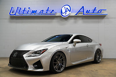 2015 Lexus RC F Base Coupe 2-Door $72K MSRP. OVER $14K INVESTED. 20