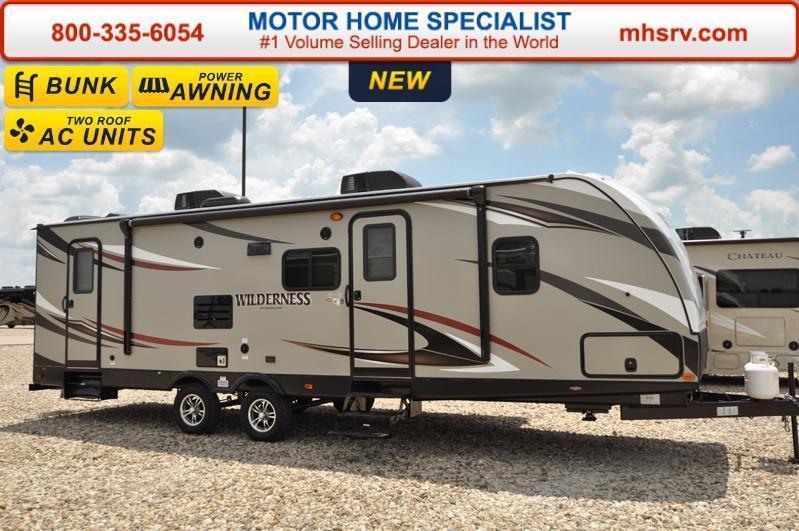 2017 Heartland Wilderness 2850BH Bunk Model RV for Sale