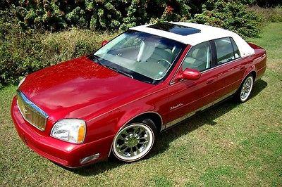 2003 Cadillac DeVille Base Sedan 4-Door 2003 CADILLAC DEVILLE VINTAGE! VOGUES! 1 OF A KIND! 1 OWNER! FLORIDA! BEST COLOR