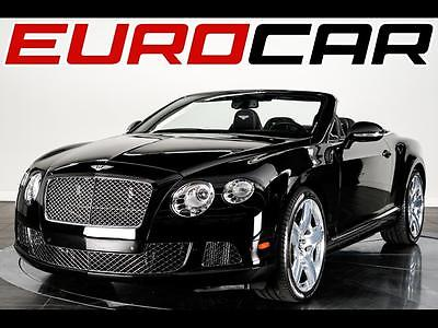 2013 Bentley Continental GT GTC Convertible 2-Door Bentley Continental GT MULLINER EDITION, $237,585.00 M.S.R.P., 21
