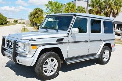 2012 Mercedes-Benz G-Class Base Sport Utility 4-Door 2012 G550 - LOADED WITH OPTIONS - FULL SERVICE HISTORY - FLORIDA CAR